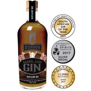 Barrel aged gin