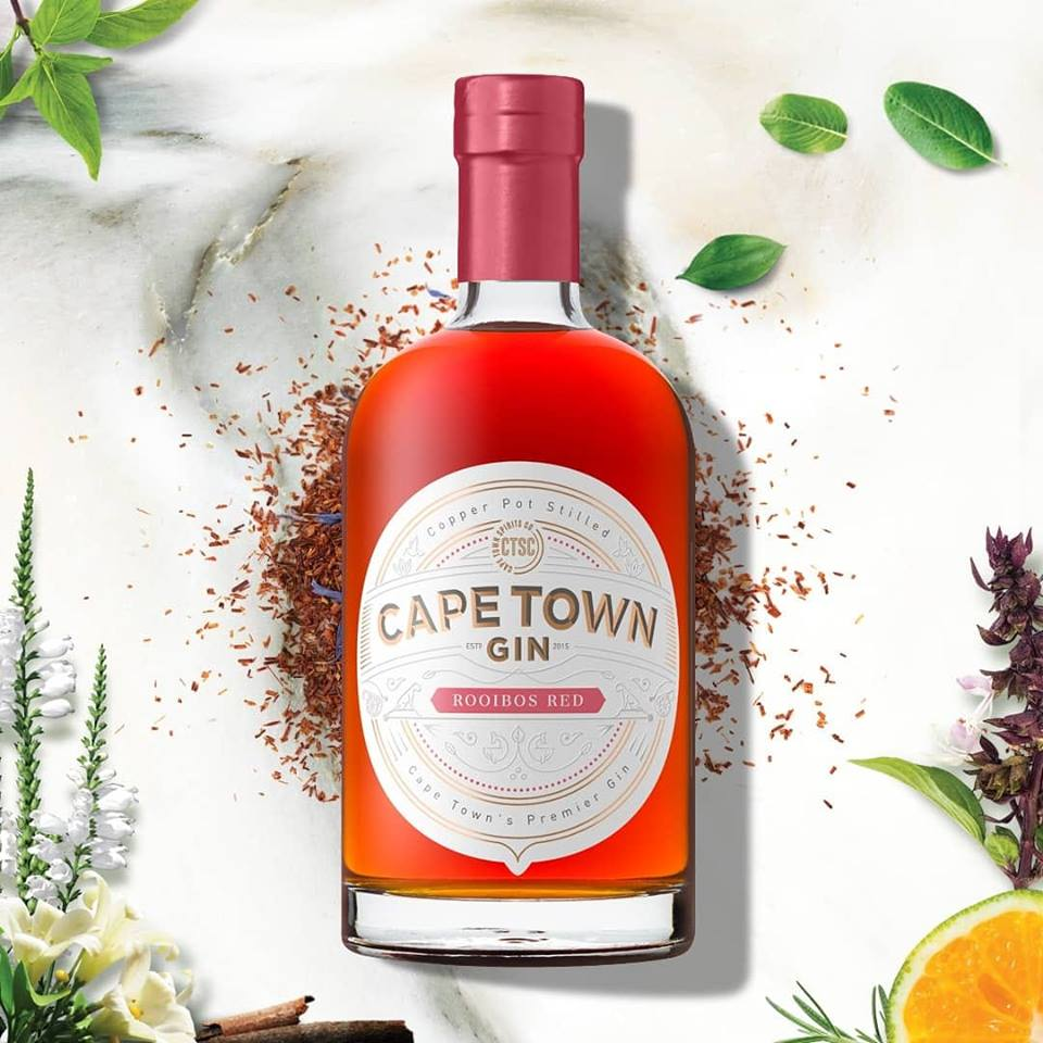 Cape Town Gin - Gin Tasting - Rooibos Red Gin