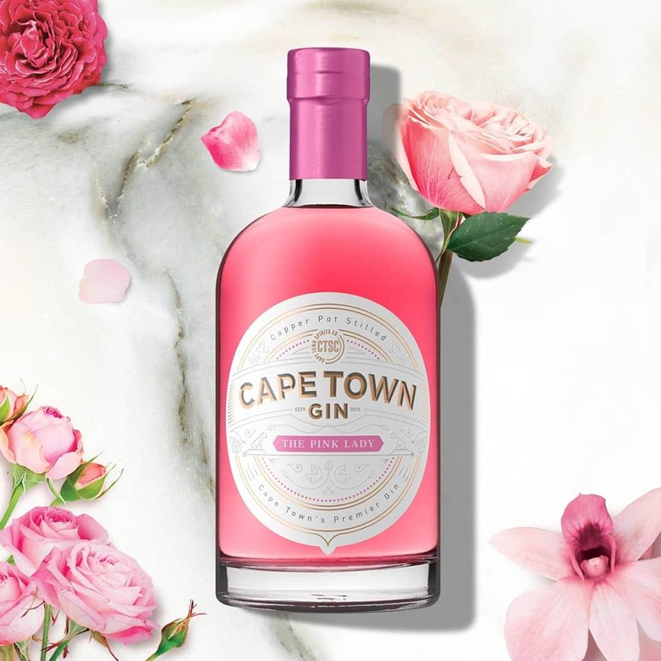 Cape Town Gin - Gin Tasting - The Pink Lady