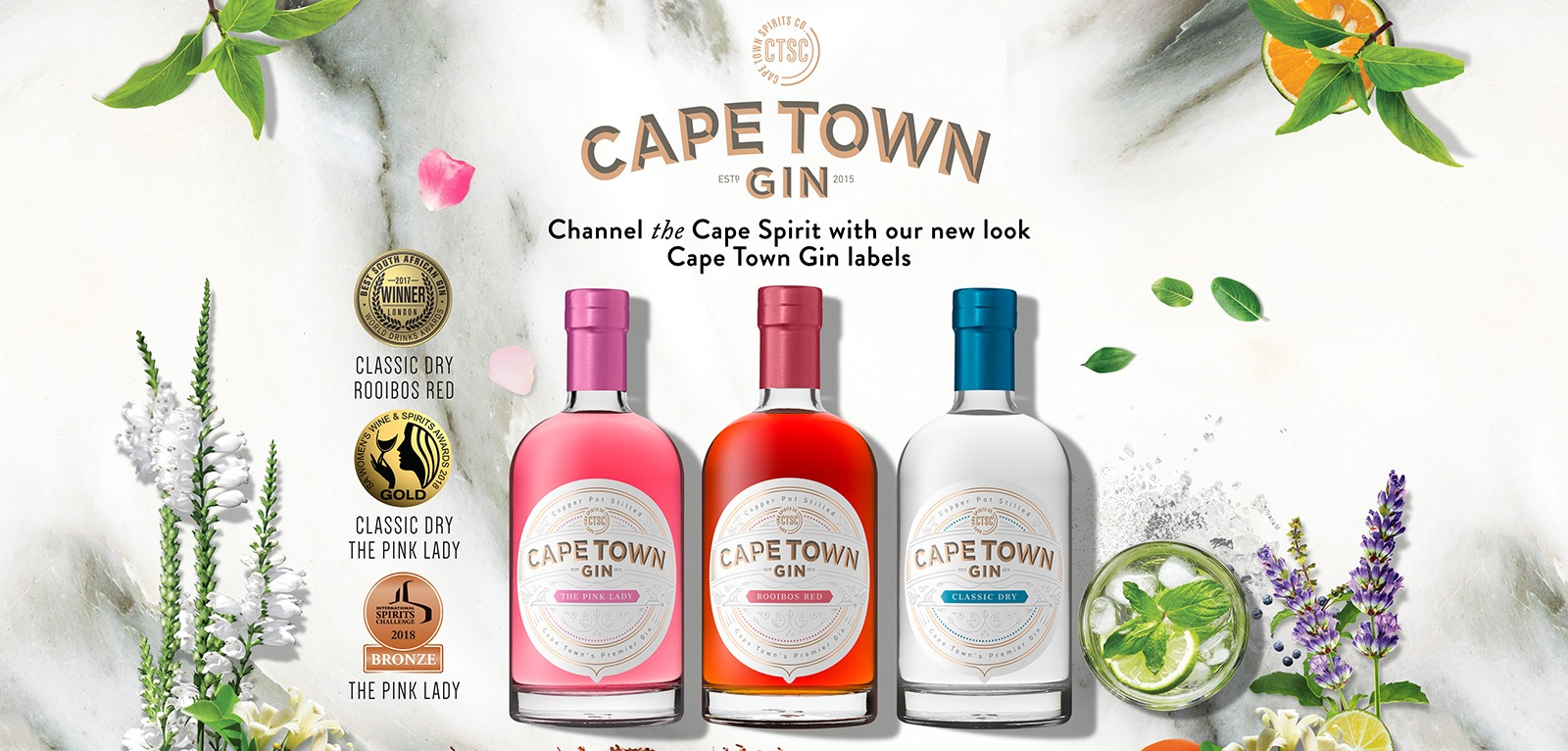 Cape Town Gin - Gin Tasting - Cape Town Gin Company