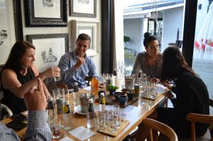 Gin tasting evening South Africa