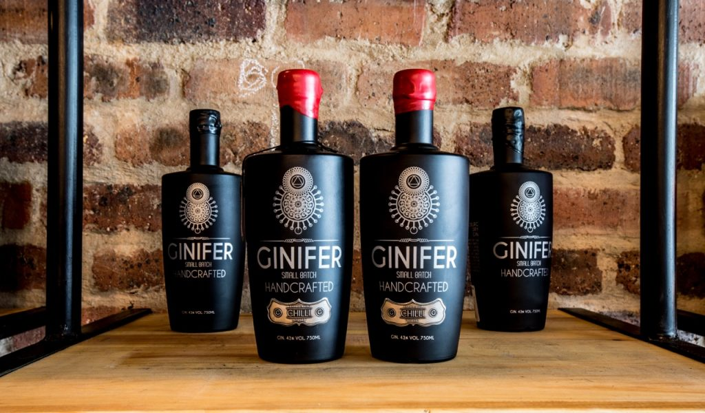 Gin tasting, gin distilleries, South Africa, origin of gin, Ginnifer Gin, Angle Heart distilleries