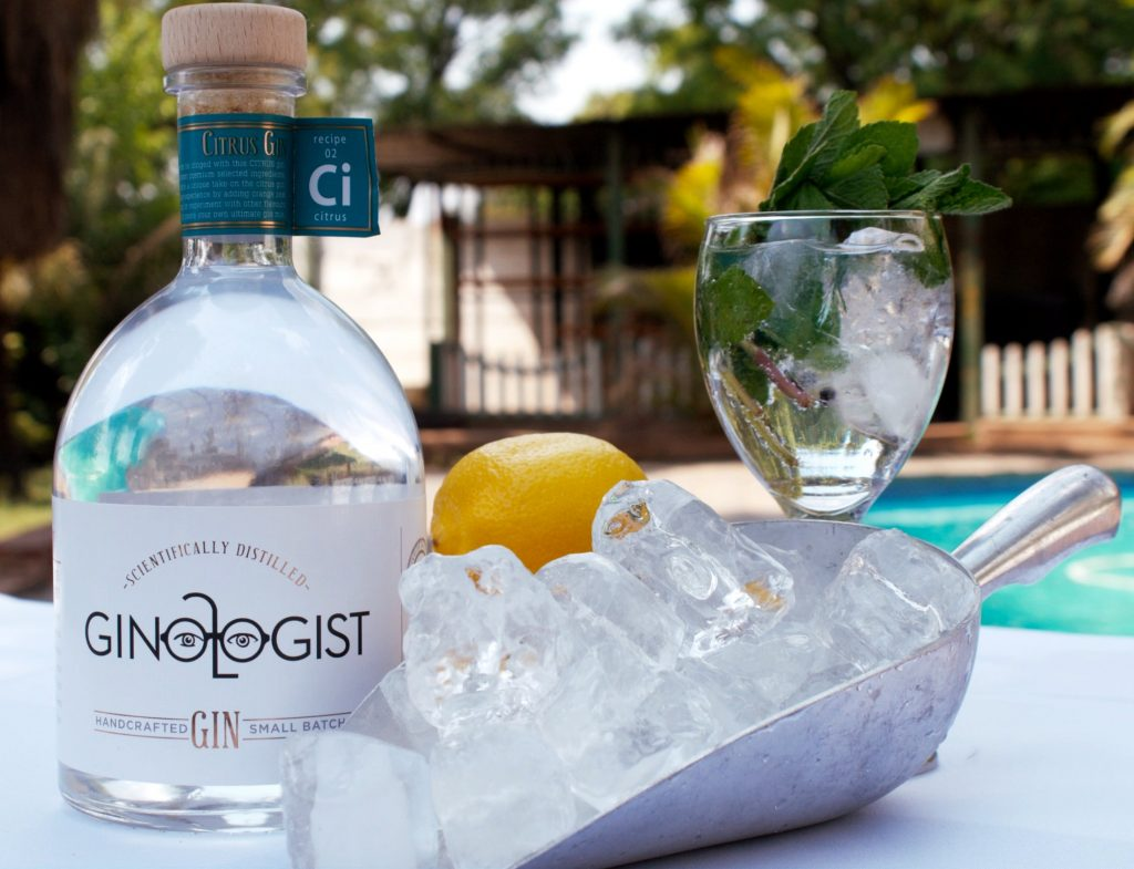Ginologist Gin, tasting, gin distilleries, South Africa, origin of gin,