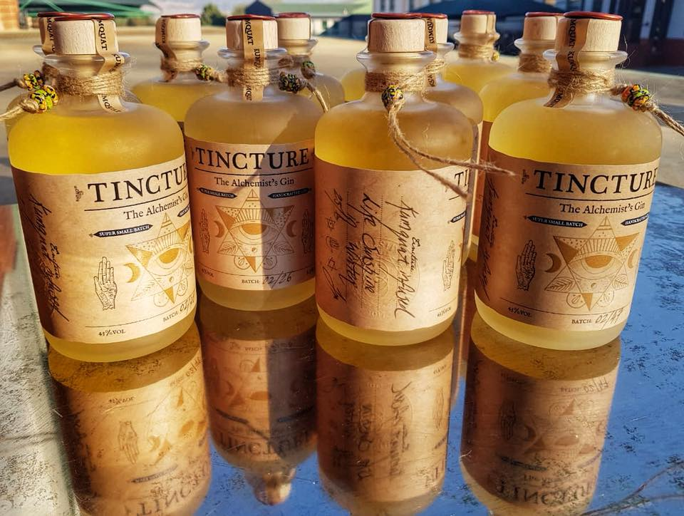 Tincture Gin - Gin Tasting - Angel Heart Bevrages