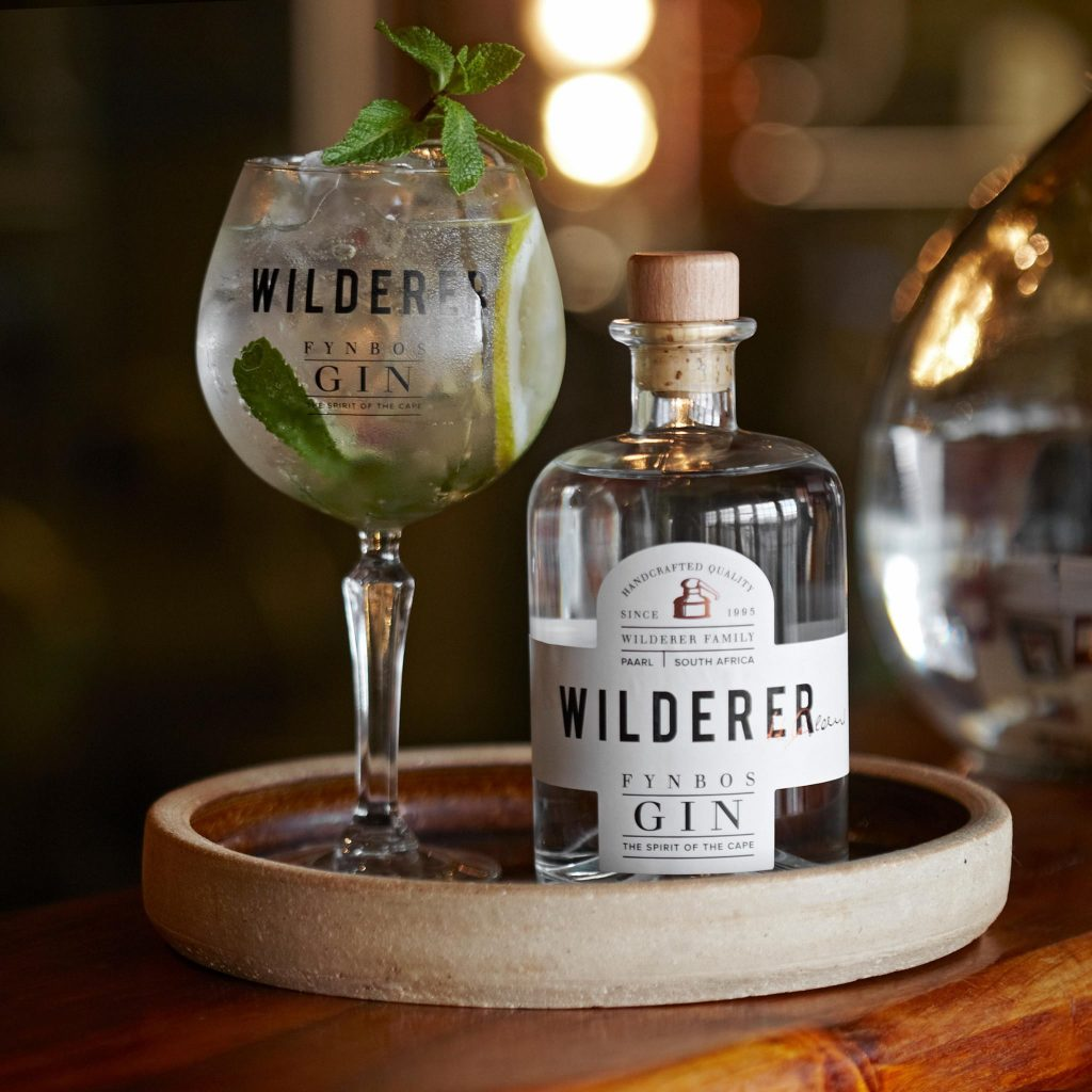 Gin tasting, gin distilleries, South Africa, origin of gin, Wilderer gin