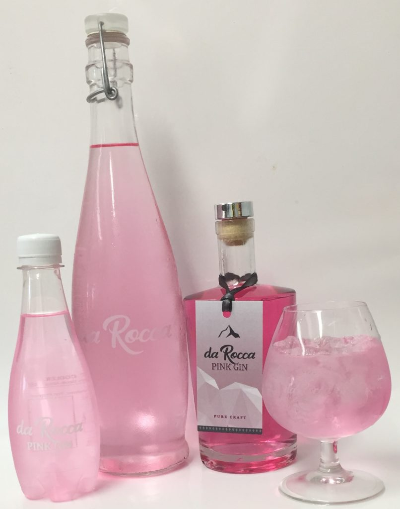 Gin tasting, gin distilleries, South Africa, origin of gin, De Rocca pink gin